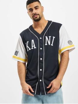 Karl Kani Shirt Kk College Baseball  blue