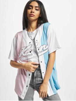Karl Kani Shirt Varsity Block blue