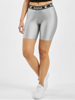 Karl Kani Short College Cycling silver colored