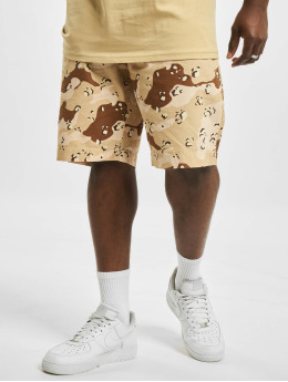 Karl Kani Shorts Small Signature Washed Camo camouflage