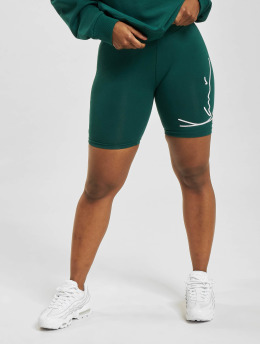 Karl Kani Shorts Signature Cycling grün