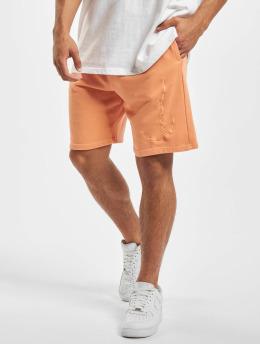 Karl Kani shorts Kk Washed Signature oranje