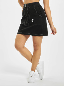 Karl Kani Skirt Denim  black