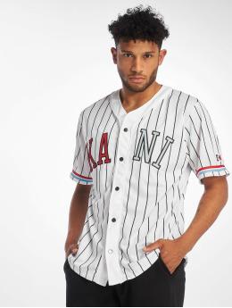 Karl Kani Skjorte College Baseball hvid