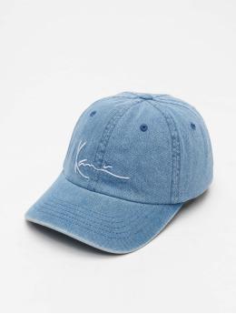 Karl Kani Snapback Cap Signature Denim blau