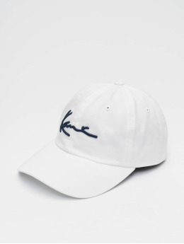 Karl Kani Snapback Caps  Signature Cap bílý