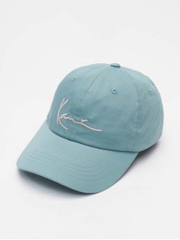 Karl Kani Snapback Caps Signature niebieski