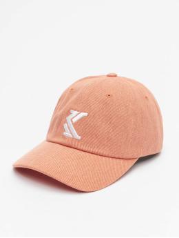 Karl Kani Snapback Caps Denim pink