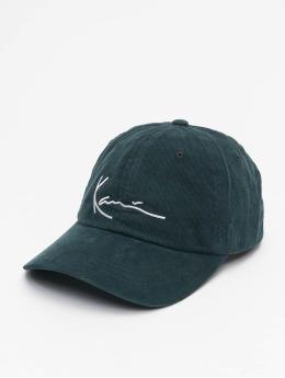 Karl Kani Snapback Caps Signature Cord  zielony