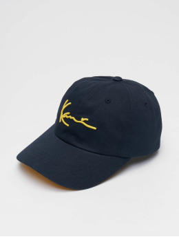 Karl Kani Snapback Signature Curved modrá
