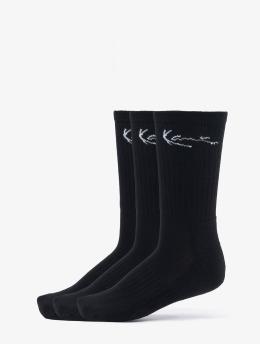 Karl Kani Socks Signature Socks 3 Pack  black