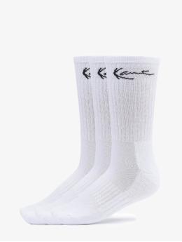 Karl Kani Socks Signature Socks 3 Pack  white