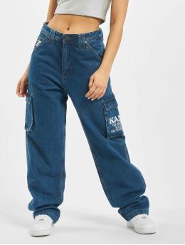 Karl Kani Spodnie Baggy Logo Denim  niebieski