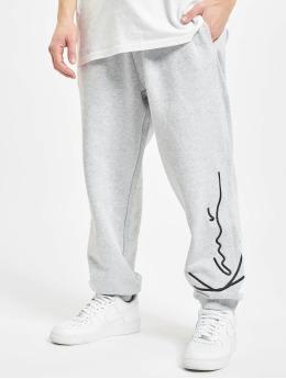 Karl Kani Spodnie do joggingu Signature Retro szary