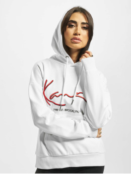 Karl Kani Sweat capuche Signature  blanc