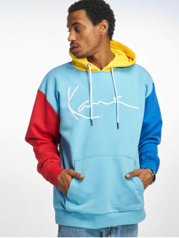 Karl Kani Sweat capuche Signature Block bleu