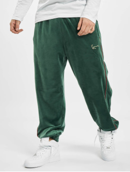 Karl Kani Sweat Pant Kk Small Signature Velvet Track green