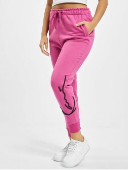 Karl Kani Sweat Pant Kk Signature pink