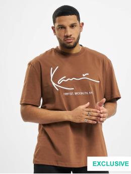 Karl Kani T-paidat Signature Brk ruskea