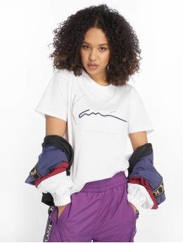 Karl Kani T-Shirt Signature Basic blanc
