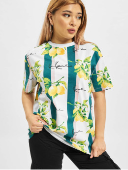 Karl Kani T-Shirt Small Signature Os blanc