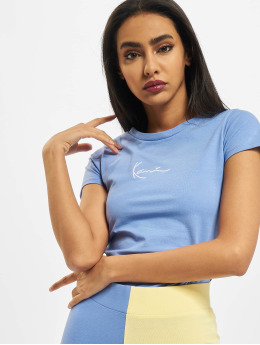 Karl Kani T-Shirt Signature Short  bleu