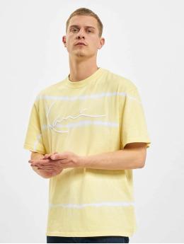 Karl Kani T-Shirt Signature Tie Dye gelb
