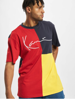 Karl Kani T-Shirt Signature Block gelb