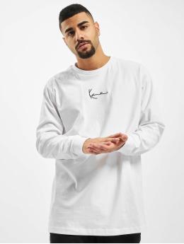 Karl Kani T-Shirt manches longues Kk Small Signature blanc