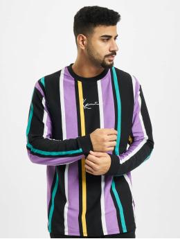 Karl Kani T-Shirt manches longues Kk Signature Stripe noir