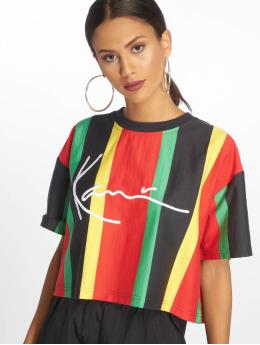 Karl Kani T-Shirt Signature Stripe multicolore