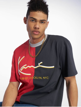 Karl Kani T-Shirt Signature Block red