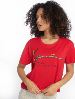 Karl Kani t-shirt Signature rood