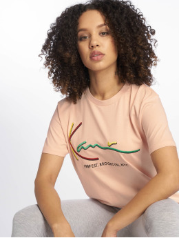 Karl Kani T-Shirt Signature Basic rosa