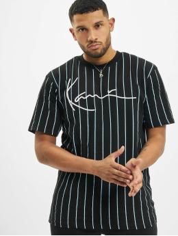 Karl Kani T-Shirt Kk Signature Pinstripe schwarz