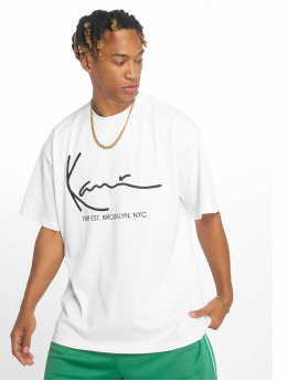 Karl Kani t-shirt Signature wit