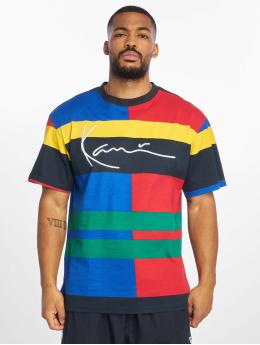 Karl Kani T-shirts Signature Block  blå