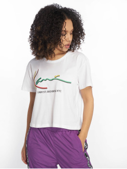 Karl Kani T-shirts Signature hvid
