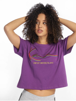 Karl Kani T-shirts Signature lilla