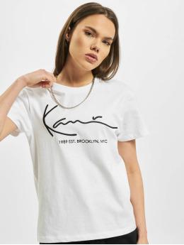 Karl Kani T-Shirty Signature Brk  bialy