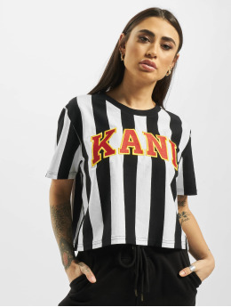 Karl Kani T-Shirty College Stripe  czarny