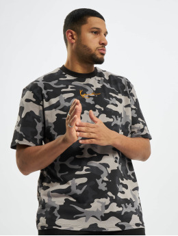 Karl Kani T-Shirty Kk Small Signature Camo moro