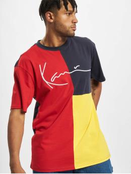 Karl Kani T-Shirty Signature Block zólty