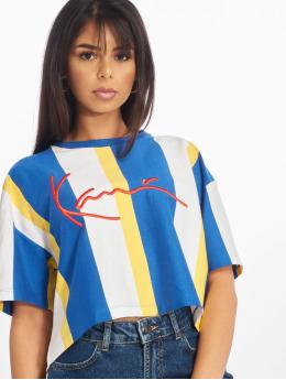 Karl Kani T-skjorter Stripe  blå