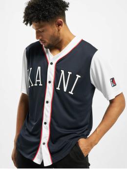 Karl Kani T-skjorter College Baseball blå