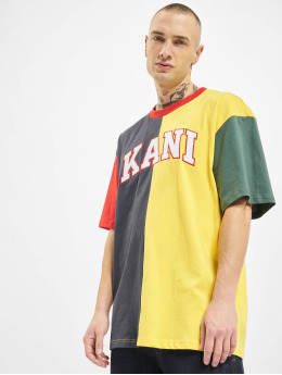 Karl Kani T-skjorter College Block blå