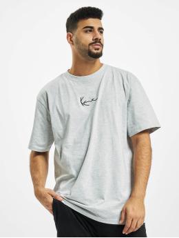 Karl Kani T-skjorter Kk Small Signature grå