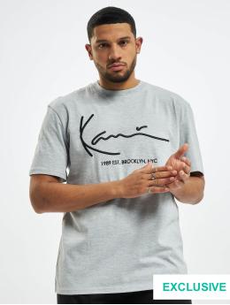 Karl Kani T-skjorter Exclusiv Signature Brk grå