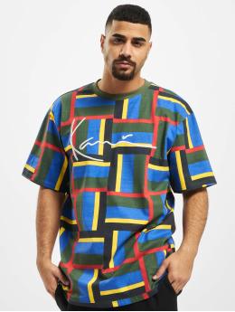 Karl Kani T-skjorter Kk Signature Block  grøn