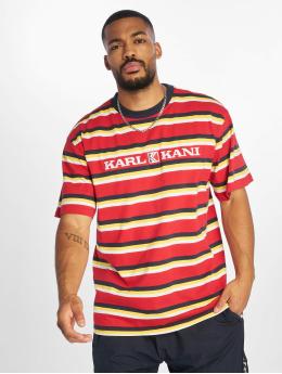 Karl Kani T-skjorter Retro  red